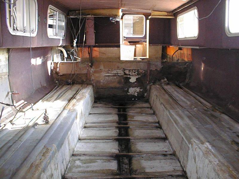 travaux d 39 int rieur bateau scite plaisance. Black Bedroom Furniture Sets. Home Design Ideas